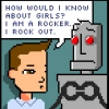 rock and robot