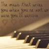The music that saves you