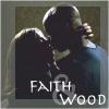 Spiletta42: Faith/Wood kiss