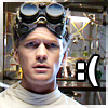 Kelly: unhappy Dr. Horrible