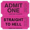 admit one straight to hell