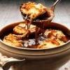 Onion soup ladle