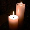 white candles (2)