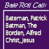 bale-roll call