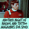 fightin' and trouble are my middle name: Spock livin' the wild life