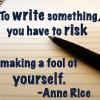 writing risk
