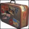 suitcase, travel