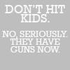 don't hit kids