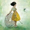 Girl with Maze