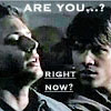are you? right now?