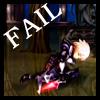 fail, Oswald, lose
