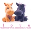"Misc:  Stuffed Horses ""Love"""