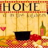Home is in the kitchen