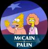 McCain Palin Abe Maude Simpsons