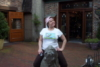 me on a horse statue..WTF..