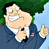TV American Dad! Stan thumbs up