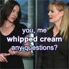 Catherine/Sara-Whipped cream