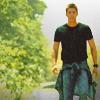 Dean walking