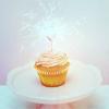 Stock: Cupcake w/candle