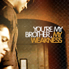 Ellen: Jensen!Dean - My Brother My Weakness