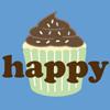 Random: Happy cupcake