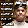 Captain Hammer = bully