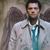 It's code for nerd disguised as a geek: [spn] castiel wings