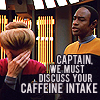 caffiene intake
