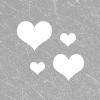 Backie: hearts