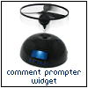 gaelbrady: Comment prompter widget