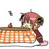 yun: Kagura sleepy