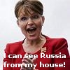 Palin can see Russia from her house!