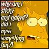 futurama - sticky and naked