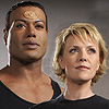 Teal'c and Sam