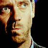 Dr. House thoughtful