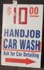 ten dollar handjob carwash
