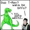 t rex and pete