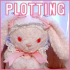 サラ・: Baby Bunny Bag: Plotting