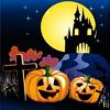 halloween (castle & pumpkins)