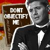 growyourwings: SPN Dean Don't Objectify Me