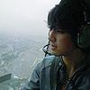 helicopter w/ earphones