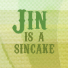 AMS: Jin is a sincake