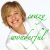 bang, ya got me!: crazy wonderful ellen