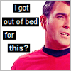 STAR TREK • I got out of bed for this?