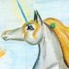 licorne акварель