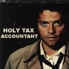 Oh Castiel!: Castiel: holy tax accountant