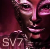 they say he has no mouth: Robots: SV7 Roots of Death pink