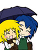let's share that umbrella