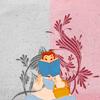 Belle reading book