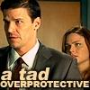Mae Vaughan: booth/brennan: overprotective